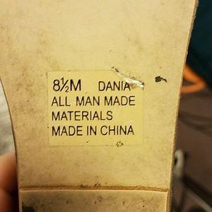 Rampage Shoes - Rampage metallic bronze wedge sandals